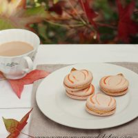 Pumpkin French Macarons