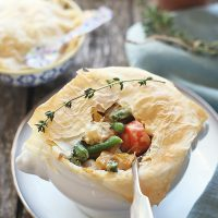 Lighter Vegetable Pot Pies
