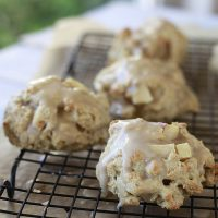 Apple Maple Scones