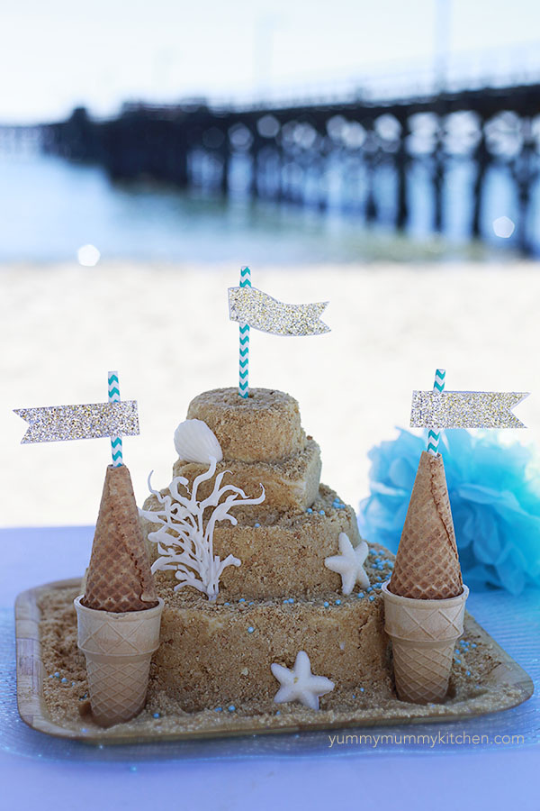 ocean beach themed kids birthday party ideas