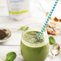 Peanut Butter Protein Green Smoothie Recipe