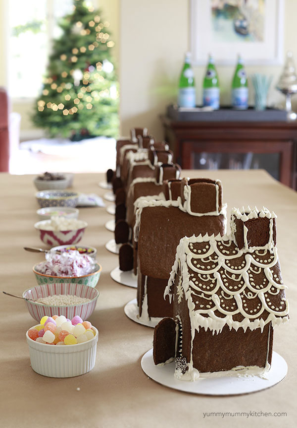 How To Make A Gingerbread House Throw A Decorating Party Yummy