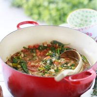 Spring Vegetable Minestrone Recipe