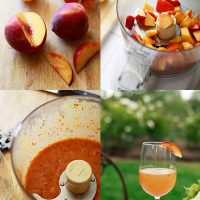 Easy Peach Bellini