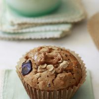 Peanut Butter Oatmeal Muffins with Chia Seeds