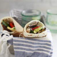 Grilled Vegetable Gyros
