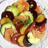 Roasted Beet, Citrus, and Avocado Salad