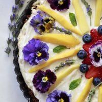 Breakfast Fruit and Granola Tart