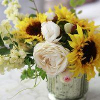 How to Make a Flower Arrangement Centerpiece