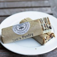 Homemade Peanut Butter and Cranberry Granola Bars