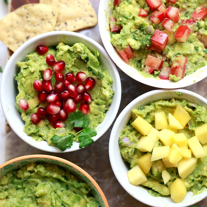 A recipe for the best classic easy guacamole perfect for dips and tacos.