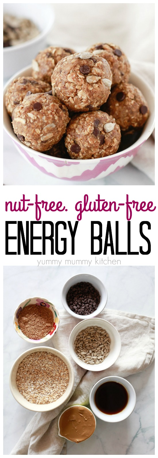 These delicious and easy to make energy balls are perfect for a quick lunch or packed in lunch boxes for kids.