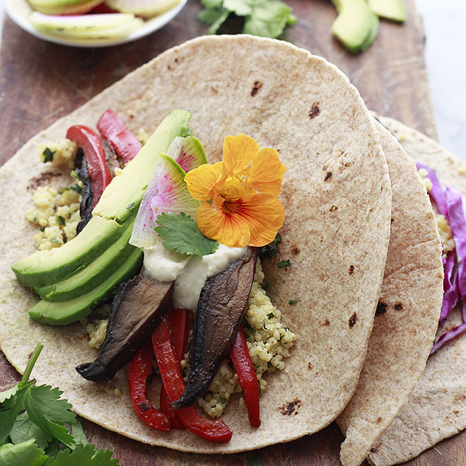 Portobello Vegetarian Tacos