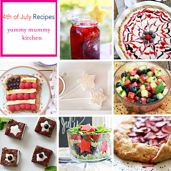 The Yummy Mummy Kitchen Cookbook: Best 4th Of July Recipes