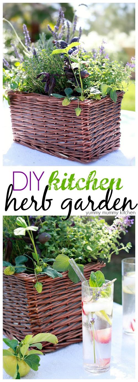 DIY Kitchen Herb Garden