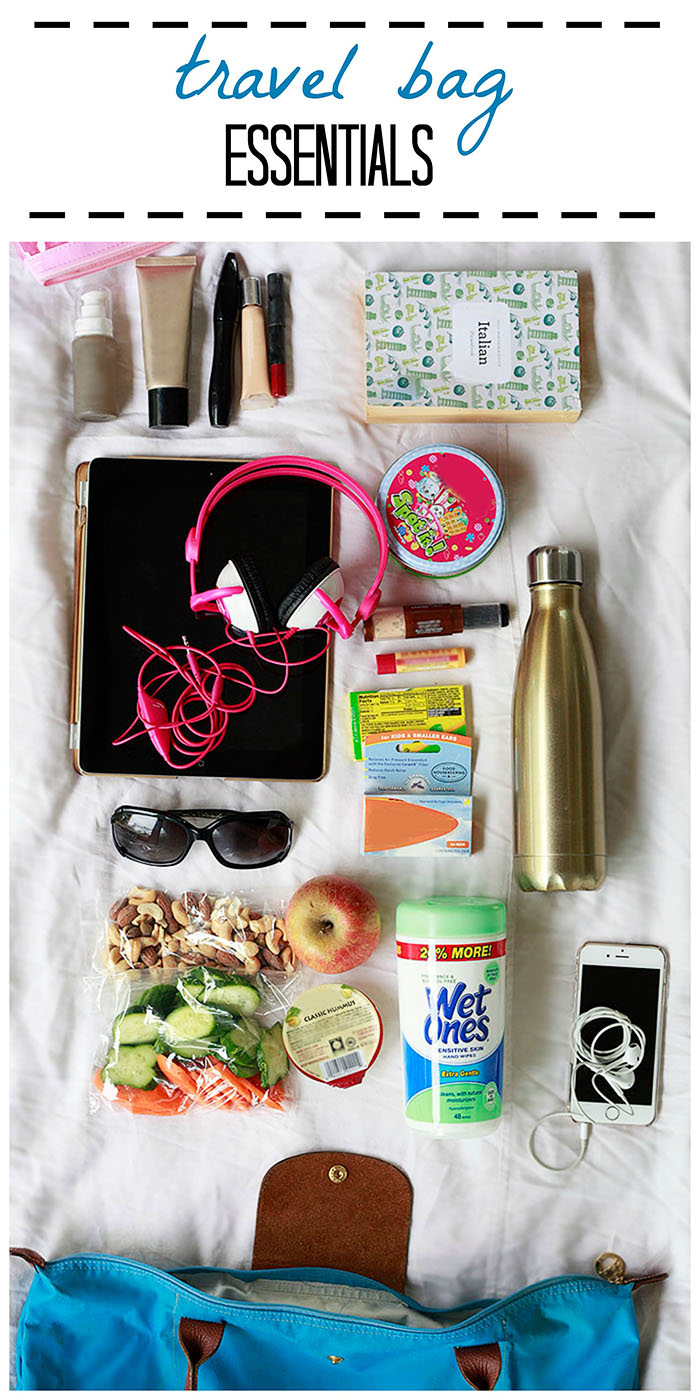 what to pack in a carry on bag for family travel
