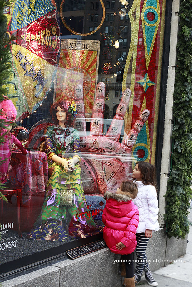 Bergdorf Goodman Holiday Windows 2015