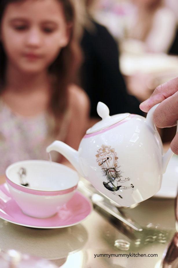 Kids tea in NYC