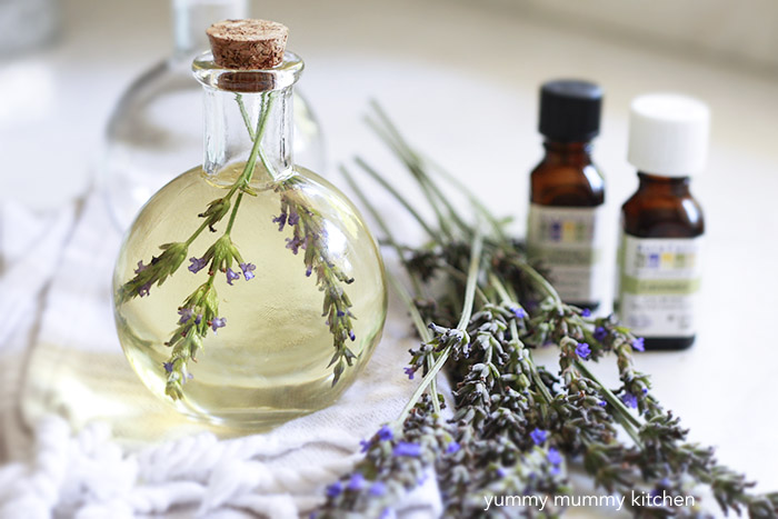 DIY essential oil body oil