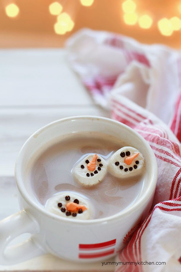Snowman Marshmallows & Olaf Marshmallows