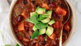 Instant Pot Vegetarian Chili