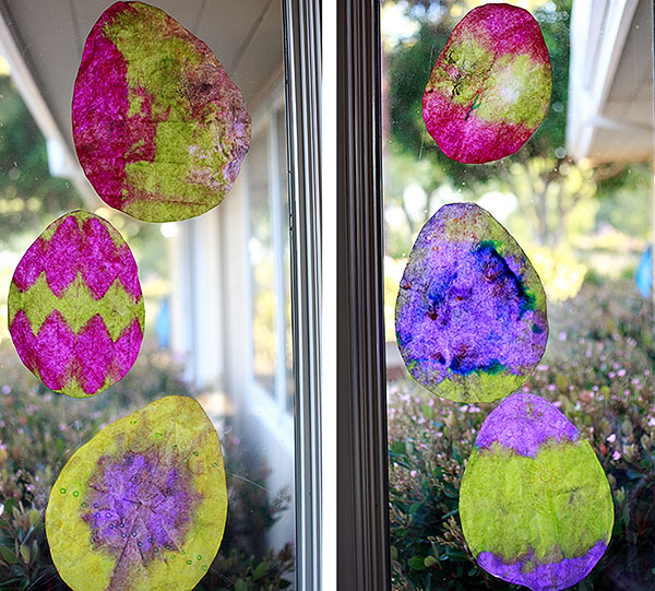 Easter Craft Coffee Filter Easter Eggs Yummy Mummy Kitchen