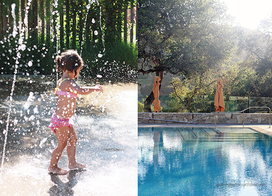 The kids and adult pool at Carmel Valley Ranch