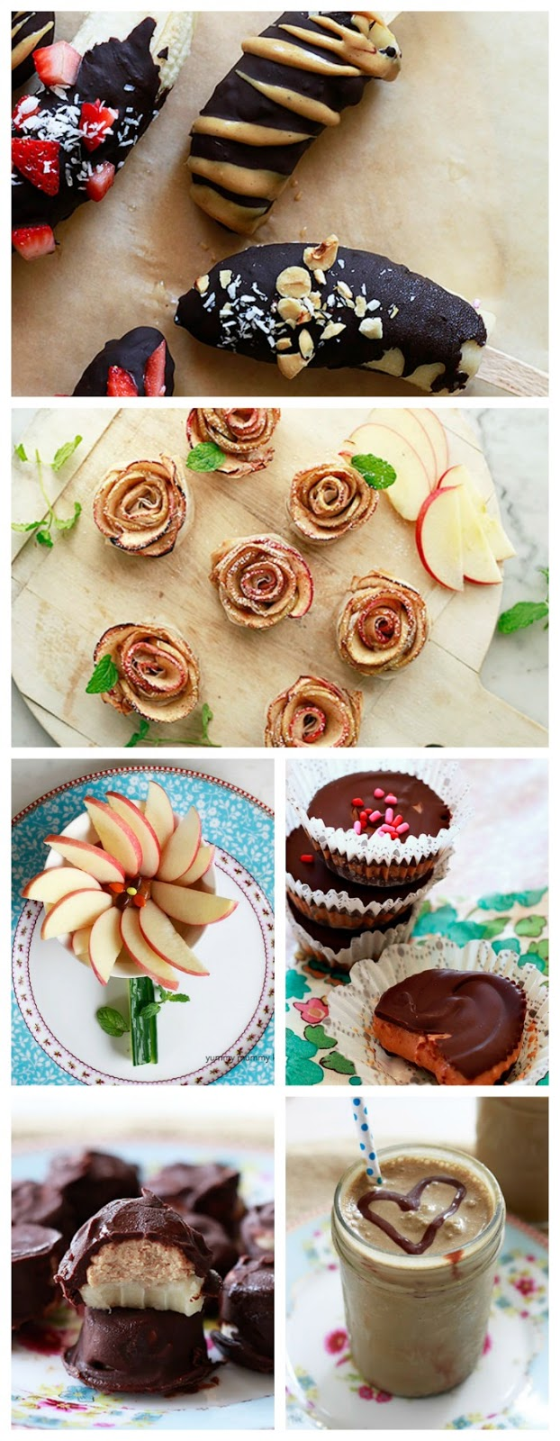 Healthy Valentine treats