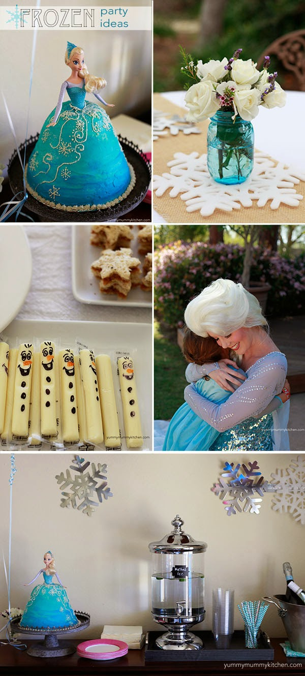 Disney Frozen Party Ideas Yummy Mummy Kitchen