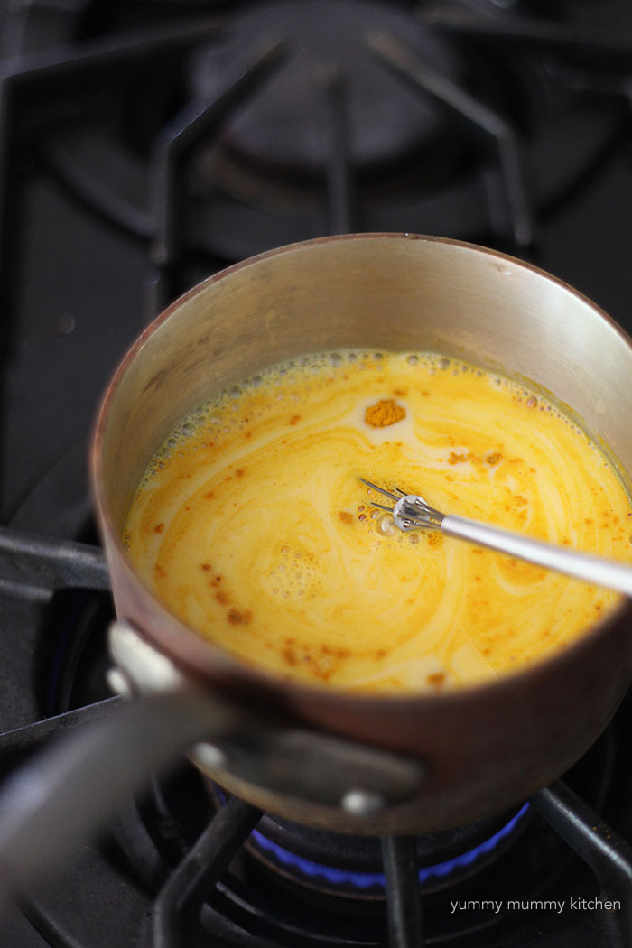 how to make golden milk turmeric tea