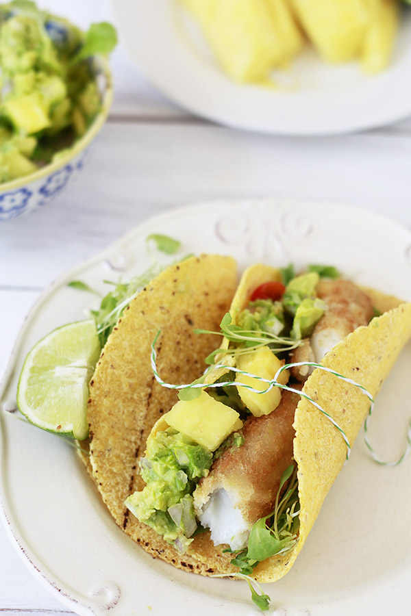 Easiest Fish Tacos, Pineapple Guacamole, and Cinco de Mayo Recipes