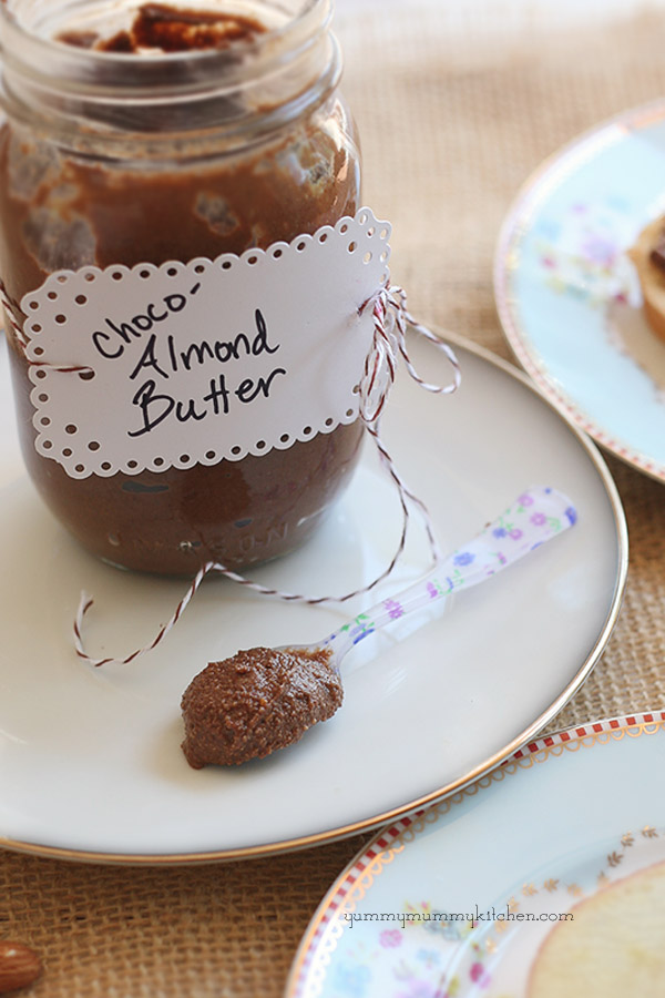 Healthier Homemade Nutella
