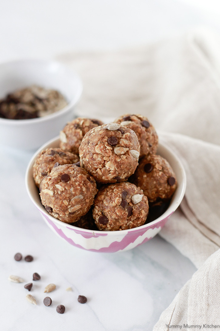 Nut Free No Bake Energy Balls Yummy Mummy Kitchen