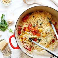 Roasted Cherry Tomato Capellini