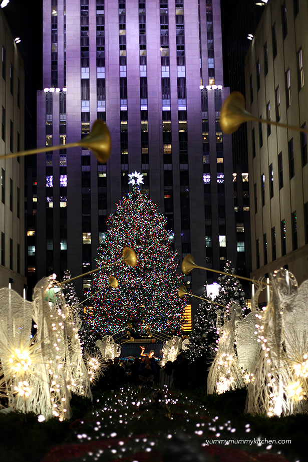 Rockefeller Center Christmas Tree and Angels