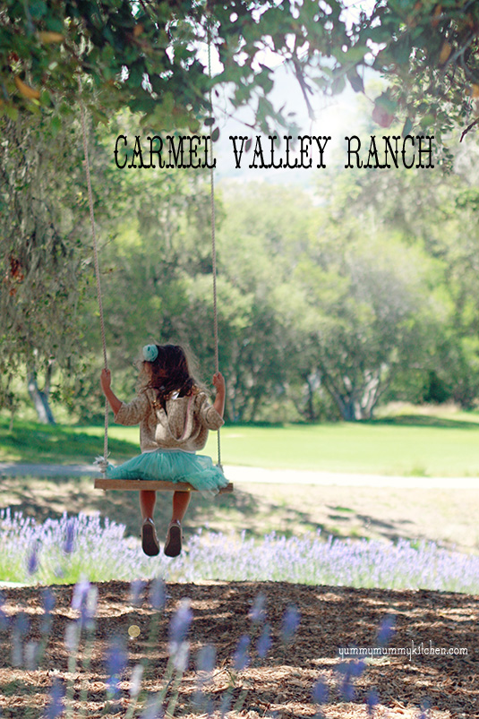 Swinging at Carmel Valley Ranch