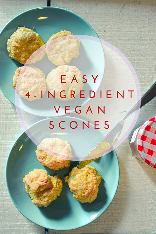 Easy vegan scone recipe