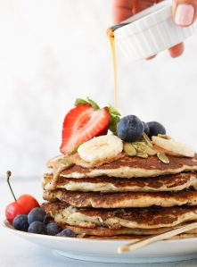 Easy vegan banana pancakes with oats easy one bowl banana pancakes are a delicious breakfast these pancakes are dairy free eggless vegan and easy to make gluten free but youd never know ccuart Images