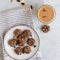 Healthy No-Bake Oatmeal Cookies