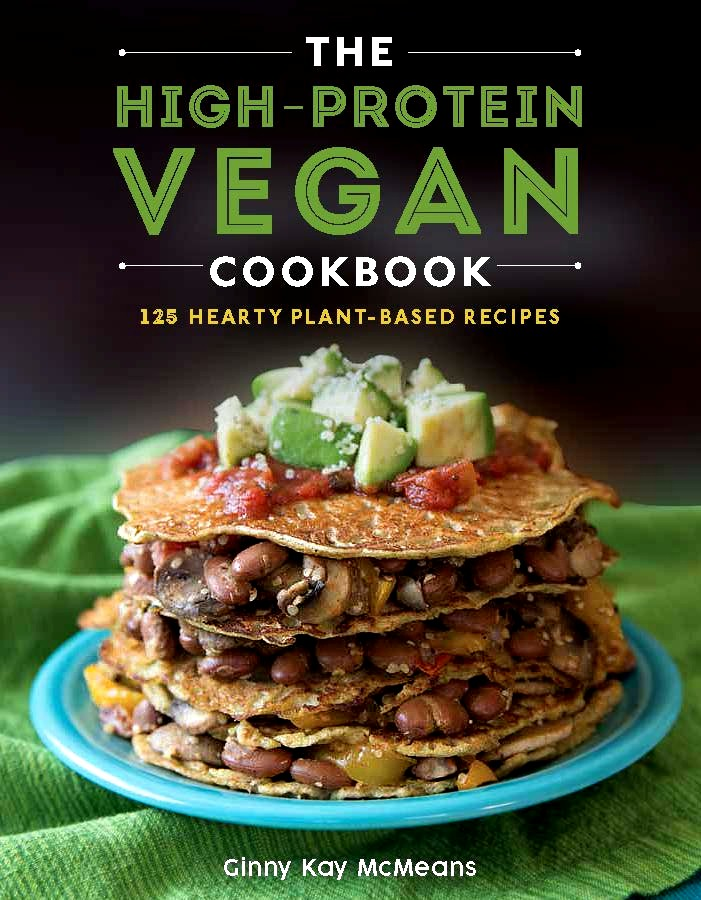 The cover of the High Protein Vegan Cookbook