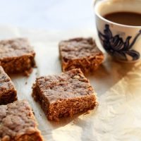Peanut Butter Snack Squares