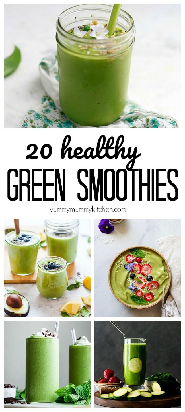 20 Best Green Homes Australia: 20 Best Healthy Vegan Green Smoothie Recipes
