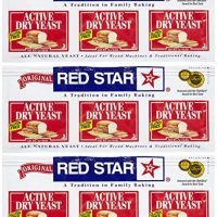 Red Star Active Dry Yeast, 0.75 oz, 3 ct, 3 pk