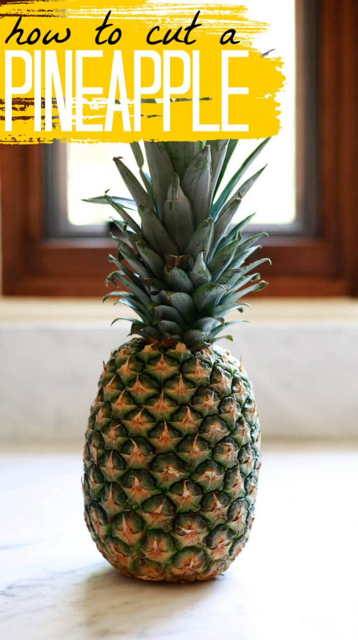 The best way to properly cut up a pineapple into spears, chunks or rings.