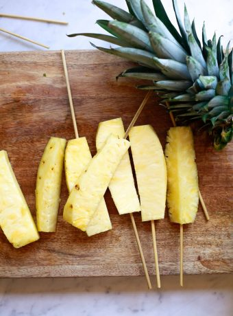 Pineapple spears