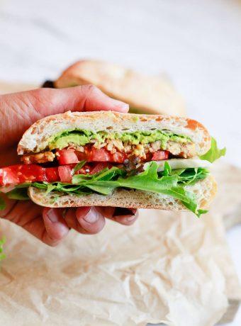 Tempeh sandwich recipe