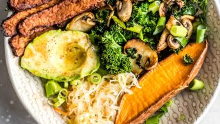 Savory Vegan Breakfast Bowl