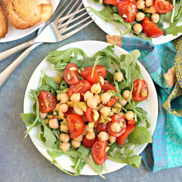 Mediterranean Green Olive Salad Dressing
