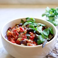 Pressure Cooker or Slow Cooker Ratatouille