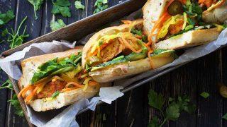 Tofu Banh Mi | Vietnamese Tofu Sandwich – Banh Mi Chay